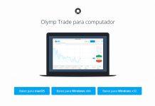 Como baixar e instalar o aplicativo da Olymp Trade no Windows ou MacOS