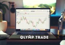 Como mudar a interface da Olymp Trade