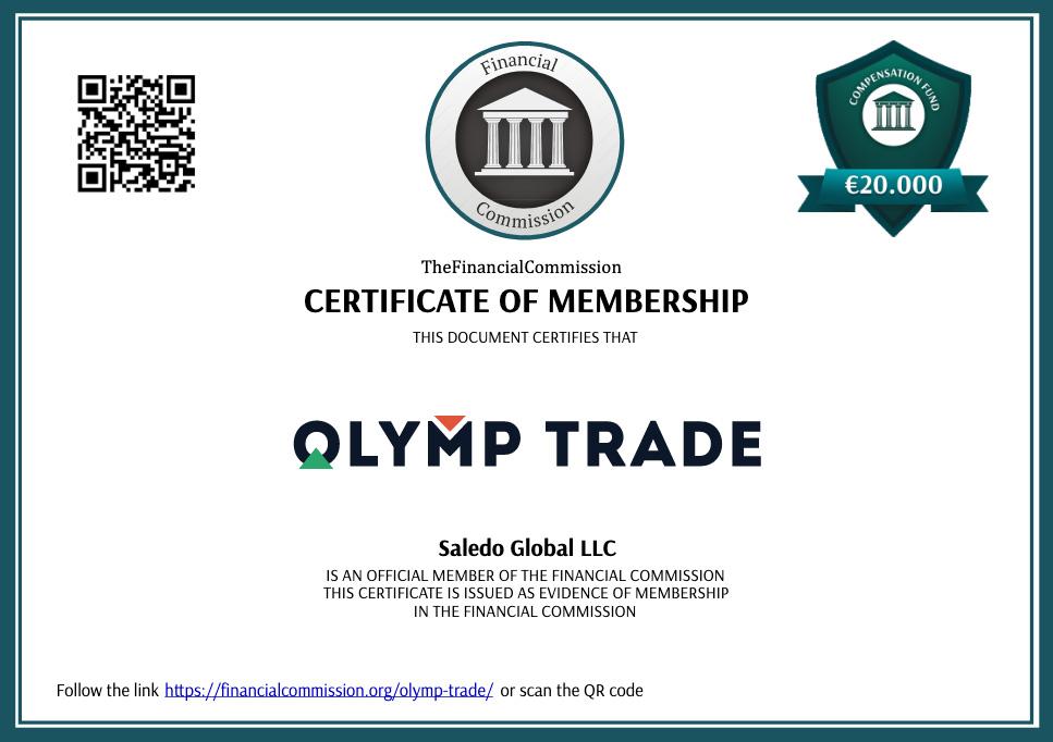 O Olymp Trade é muito transparente