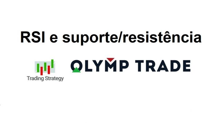 Estratégia de negociação Olymp Trade: Combinando RSI com os Indicadores Suporte/Resistência