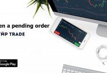 Como criar uma ordem pendente com a Olymp Trade