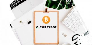 Negociando Fixed Time Trade com criptomoedas na Olymp Trade