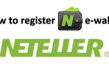 Como registrar a Neteller, depositar e verificar a conta
