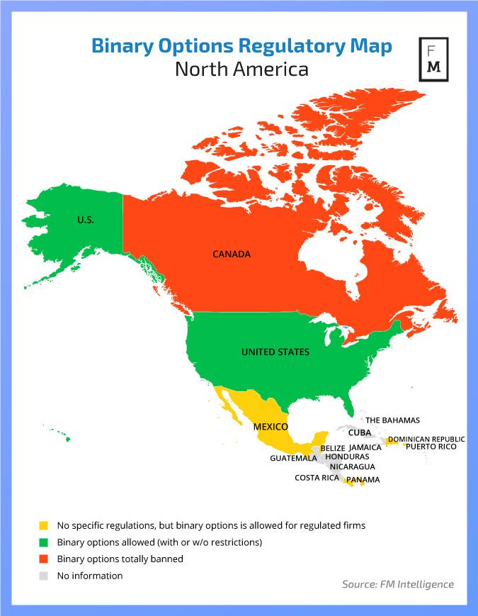 Países na América do Norte