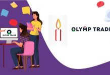 Como negociar na Olymp Trade com as Velas de Test