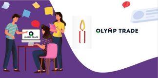Como negociar na Olymp Trade com as Velas de Test